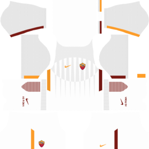 As Roma away dls kit 2017-2018