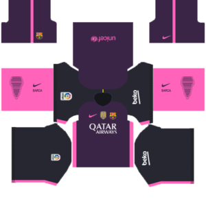 Barcelona Away DLS kit 2015