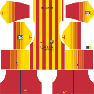 Barcelona Dls Away kit 2013-2014