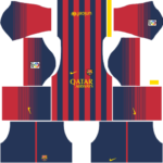 Barcelona Kits 2013/2014 Dream League Soccer