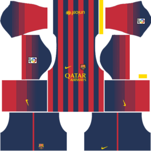 Barcelona Dls Home kit 2013-2014