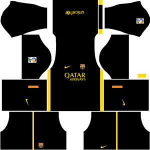 Barcelona Dls Third kit 2013-2014