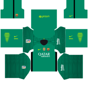 Barcelona Goalkeeper Home DLS kit 2015
