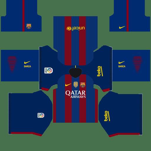 Barcelona Kits 2015 Dream League Soccer
