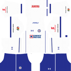 decd40489 Cruz Azul Kits 2017 2018 Dream League Soccer