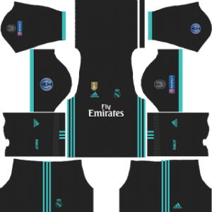 promo code 4a444 81fc6 Real Madrid UCL Kits 2017/2018 Dream League Soccer