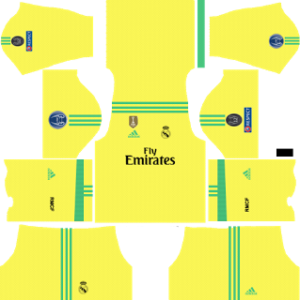 Real Madrid UCL goalkeeper third kits 2017-2018