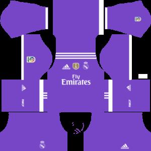 Real Madrid dls away kit 2016-2017