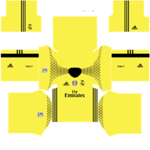 Real Madrid dls goalkeeper away special Kit 2016-2017