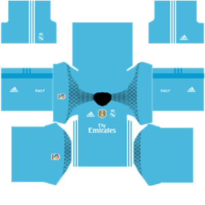 Real Madrid dls goalkeeper home special Kit 2016-2017