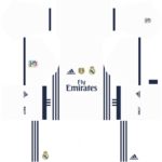 Real Madrid Kits 2016/2017 Dream League Soccer