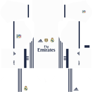 Real Madrid dls home kit 2016-2017