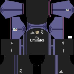Real Madrid dls third kit 2016-2017