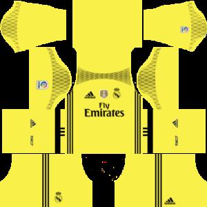 Real Madrid goalkeeper dls away kit 2016-2017