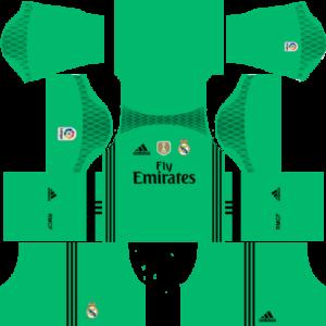 Real Madrid goalkeeper dls third kit 2016-2017