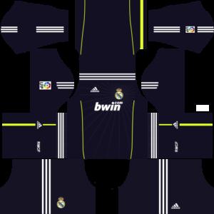 Real madrid dls away kit 2010-2011