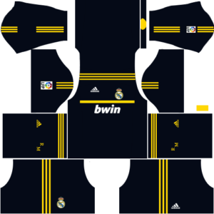 Real madrid dls goalkeeper away kit 2011-2012