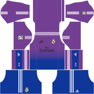 Real madrid dls goalkeeper home kit 2013-2014