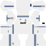 Real Madrid Kits 2010/2011 Dream League Soccer – Real Madrid DLS 2010/2011 Kits