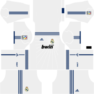 a04f26f5fd3 Real Madrid Kits 2010 2011 Dream League Soccer