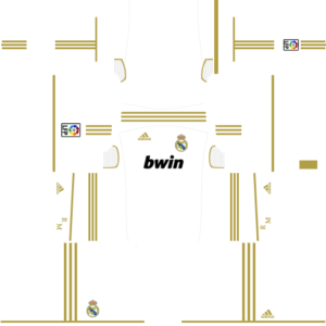 Real madrid dls home kit 2011-2012
