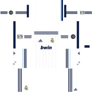 Real madrid dls home kit 2012-2013