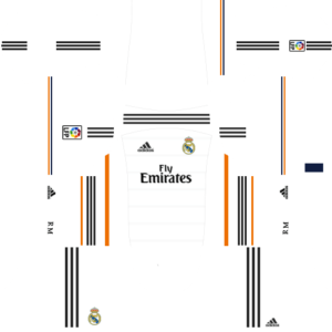 Real madrid dls home kit 2013-2014