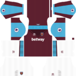 West Ham United Kits 2017/18 Dream League Soccer
