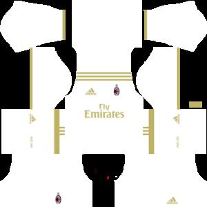 ac milan away kit 2016-2017 dream league soccer