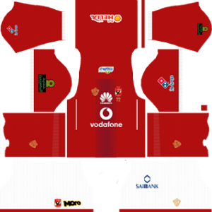 al ahly egypt dls home kit 2017-2018