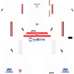 al zamalek egypt dls home kit 2017-2018