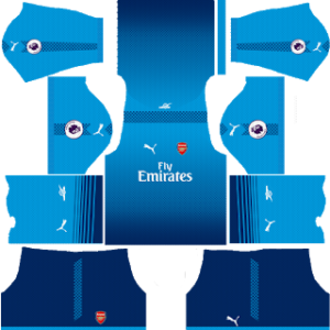 arsenal away kit 2017-2018 dream league soccer