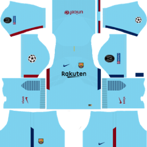 barcelona UCL nike dls away kit 2017-2018