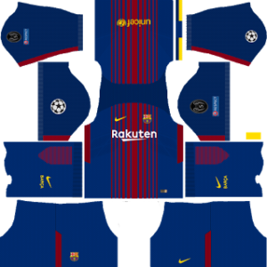 barcelona UCL nike dls home kit 2017-2018