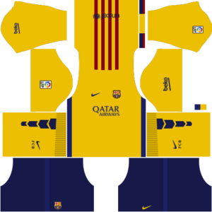 barcelona dls away kit 2015-2016