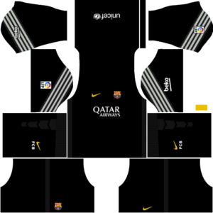 barcelona dls goalkeeper away kit 2015-2016