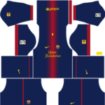 barcelona dls home kit 2012-2013