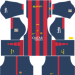 Barcelona Kits 2014/2015 Dream League Soccer