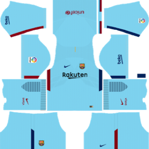barcelona away kit 2017-2018 dream league soccer
