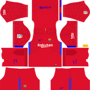 barcelona goalkeeper home kit 2017-2018 dream league soccer