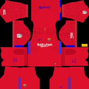 official photos d2720 c2f83 F.C. Barcelona Nike Kits 2017/2018 Dream League Soccer