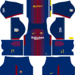 F.C. Barcelona Nike Kits 2017/2018 Dream League Soccer
