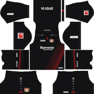 bayer leverkusen dls home kit 2017-2018