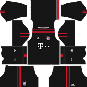 bayern munich goalkeeper home kit 2017-2018 dream league soccer