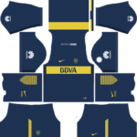 boca junior dls home kit 2017-2018