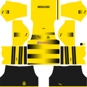 Borussia Dortmund Kits 2017/2018 Dream League Soccer