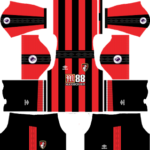 A.F.C. Bournemouth Kits 2017/2018 Dream League Soccer