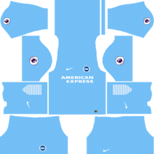 brigthon & hove albion goalkeeper away kit 2017-2018
