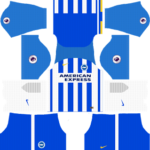 Brighton & Hove Albion F.C. Kits 2017/2018 Dream League Soccer
