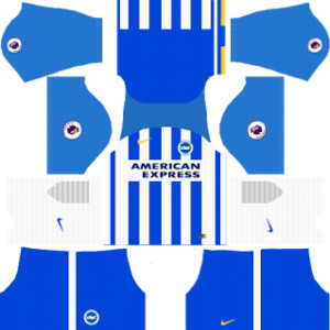 brigthon & hove albion home kit 2017-2018